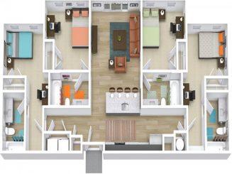 D1 ALT Floor plan layout