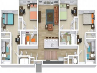 D1 ALT 2 Floor plan layout