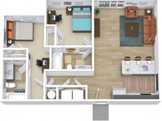 B1 ALT Floor plan layout